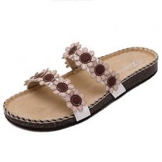 Women's Summer PU Casual Flip-Flops