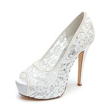 Women's Platform Wedding Stiletto Heels