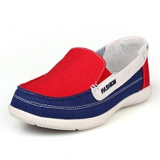 Women's Moccasin Canvas Casual Flats