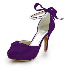 Women's Round Toe Stiletto Heel Pumps