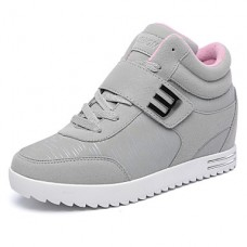 Women's Fall Comfort Leatherette Sneakers