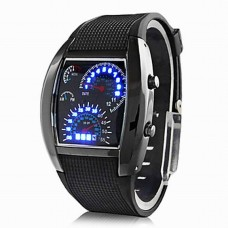 Men's LED Digital Calendar Watch