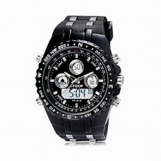 Men's Military Water Analog Digital Watch