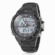 Men's Analog-Digital LCD Watch