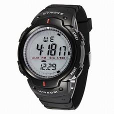 Men's Digital Waterproof LED Watch