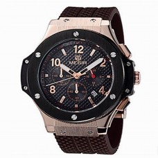 Men's Silicone Jewelry Fashion Watch