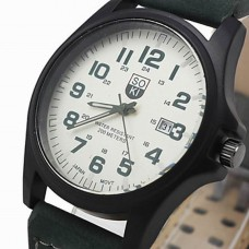 Men's Fashion Leisure Calendar Watch