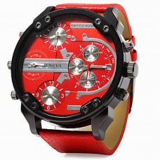 Men's Military Calendar Red Watch