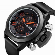 Men's Chronograph Military  Silicone Watch