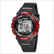 Men's Sport LCD Chronograph Watch