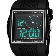 Men's Sport LED Water Resistant watch