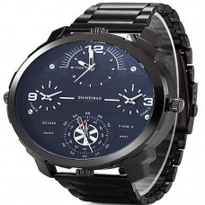 Men Four time zones Military watches