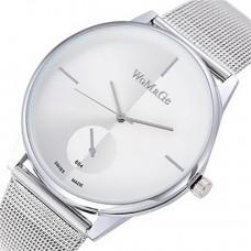 Women Stainless Steel Mesh Bracelet Watch