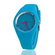 Women's Fashion Quartz Silicone Band Watch