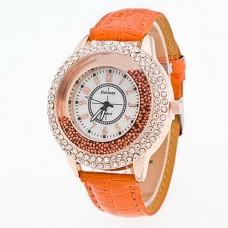 Women Fashion Imitation Diamond Watch