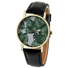 Women Tropical Palm Leaves Floral Watch