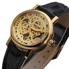 Women's Hollow Analog Mechanical Watch