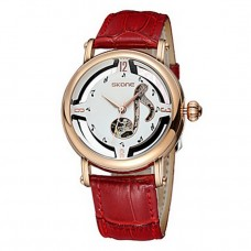 Women's Genuine Leather Automatic Watch