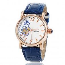 Women Automatic Leather Wrist watch