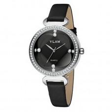 Women Crystal Diamond Leather Watch