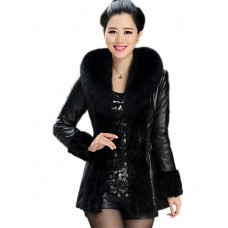 Women Faux Top Lined Fur