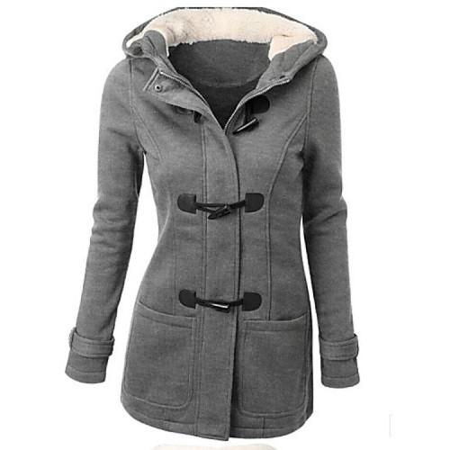Women's Thicken Woolen Coat