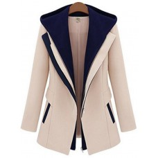 Women's Slim Tweed Winter Coat