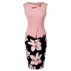 Women's Casual Chic Sheath Dress
