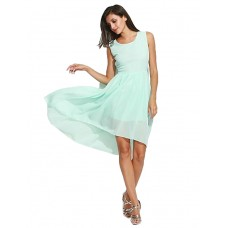 Women's Casual Solid Swing Dress