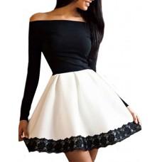Women's Off Shoulder Sexy Lace Dress