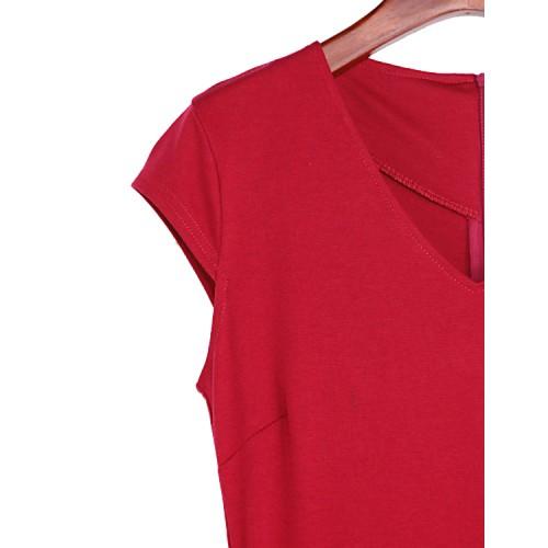 omen's Party V-neck Bodycon Dress