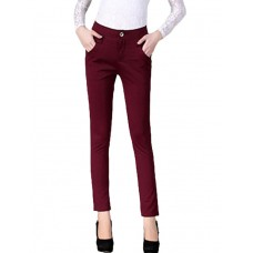 Women's Casual Solid Suit Pants