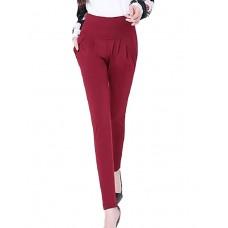 Women's Solid Color Harem Pants