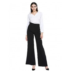 Women's Zipper Loose Leg Pants