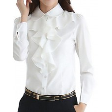 Women's Formal Spring  Fall Shirt