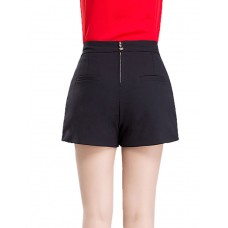 Women's Casual Solid Shorts Pants