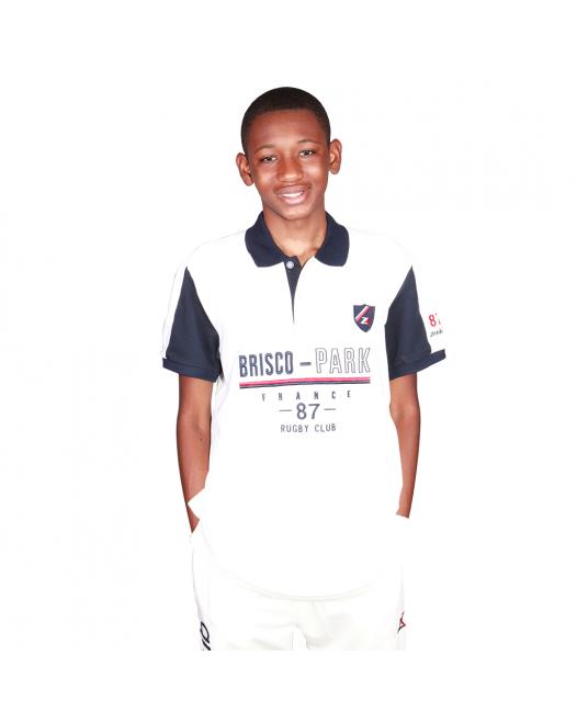 Zeekas New Brisco Park Rugby Club Short Sleeve Polo Shirt Mens