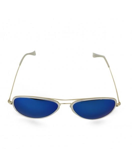 Unisex Polarized Day Blue Sky Aviator Sunglasses