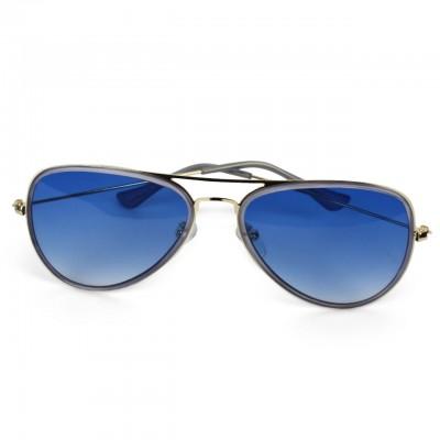 Unisex Polarized Day Aviator Sunglasses - Blue