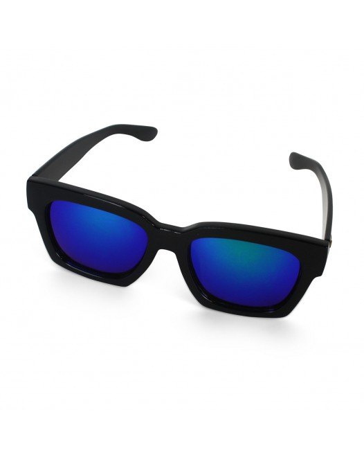 Unisex UV Protected Black Wayfarer Sunglasses