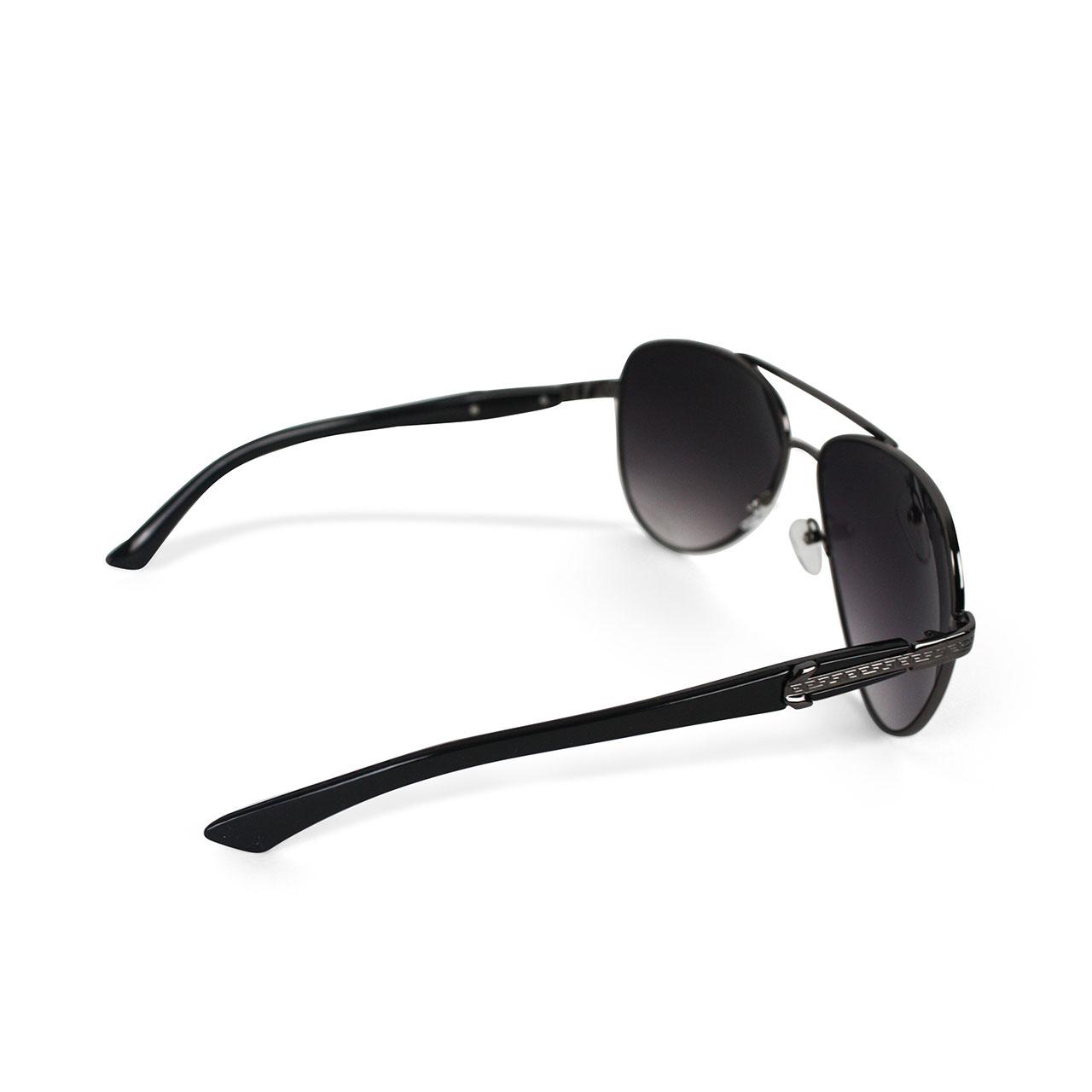 Unisex Polarized half rimmed Smoke Aviator Sunglasses