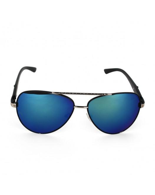 Unisex UV Protected Blue tint Aviator Sunglasses