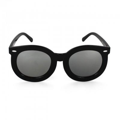White Arrow Stylish New Round Smoke Wayfarer Sunglasses