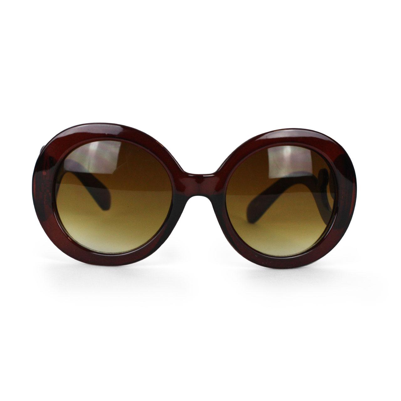 Women's Woody Tan Tint Cat Eyed Sunglasses