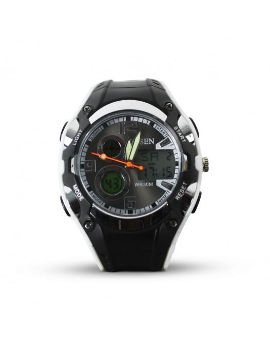 Men's Digital OHSEN Quartz WR30M LED Display Sport Waterproof Wristwatch
