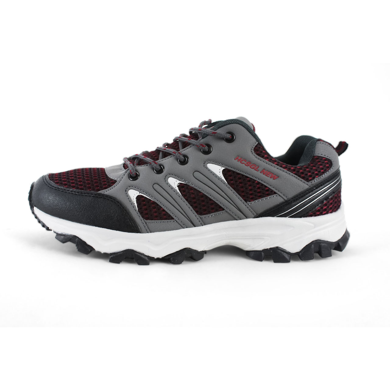 Men's Athletic Multisport Leather Tulle Outdoor Shoes