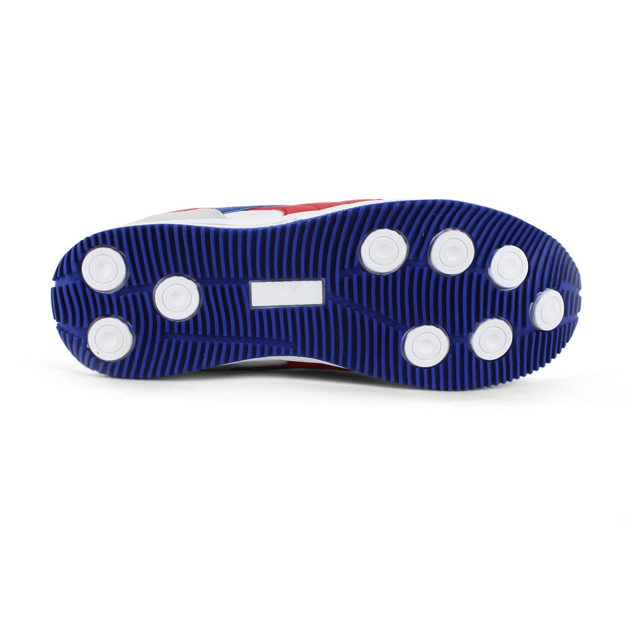 Men's Athletic Comfort Leatherette Shoes - White