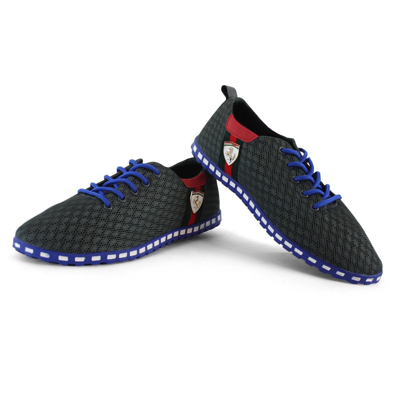 Men's Athletic Comfort PU Tulle Unicorn Gray Shoes