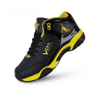 VBA 8 Men's Sports Basketball Shoes Yellow/Blue/Red