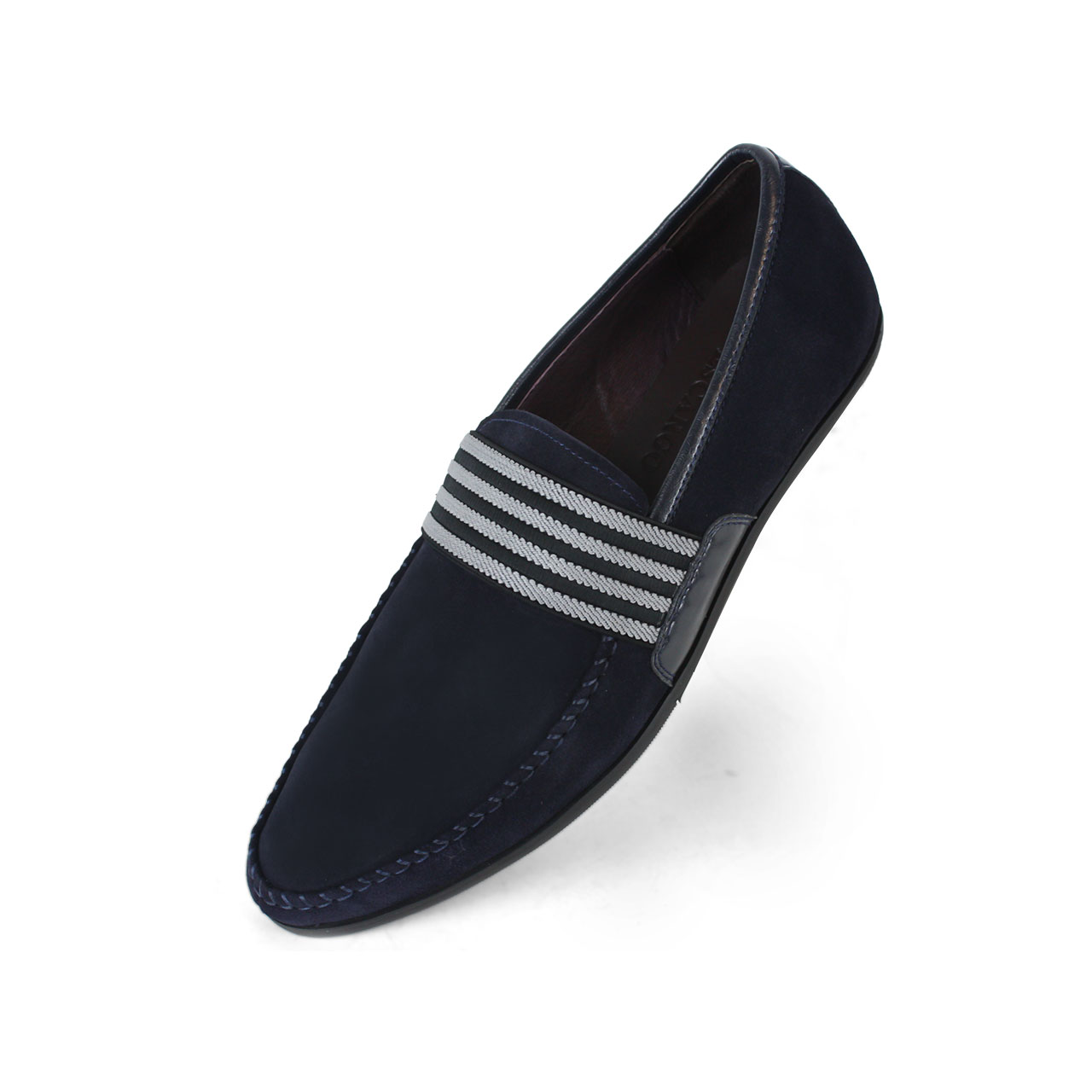 Men's Shoes Casual Denim Loafers Black / Navy Blue